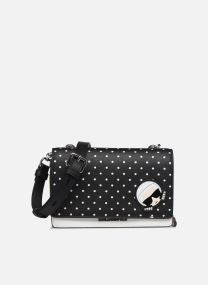 KARL DOTS CROSSBODY DOUBLE POUCH