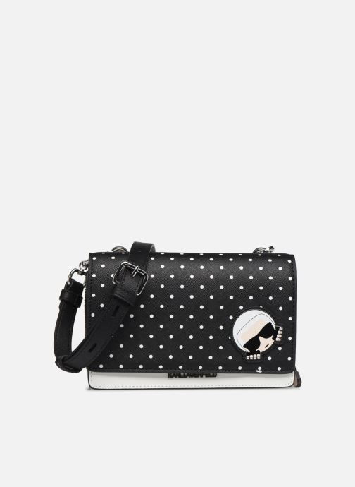Kleine lederwaren Karl Lagerfeld KARL DOTS CROSSBODY DOUBLE POUCH Zwart detail