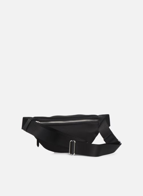 Petite Maroquinerie Karl Lagerfeld K/IKONIK NYLON BUMBAG Noir vue face