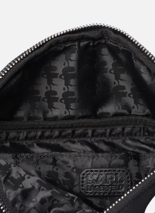 Kleine lederwaren Karl Lagerfeld K/IKONIK NYLON BUMBAG Zwart achterkant