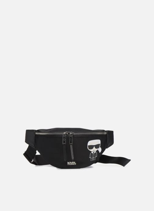 Kleine lederwaren Karl Lagerfeld K/IKONIK NYLON BUMBAG Zwart detail