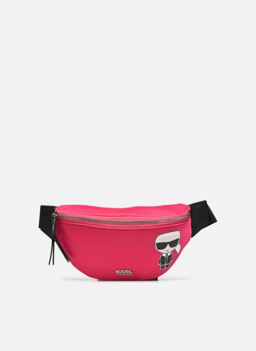 Sacs à main Karl Lagerfeld K/IKONIK NYLON BUMBAG Rose vue détail/paire