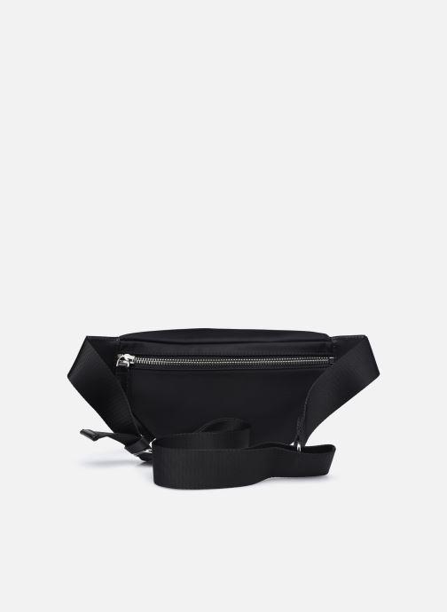 Bolsos de mano Karl Lagerfeld K/IKONIK NYLON BUMBAG Negro vista de frente