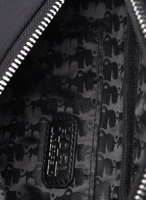 Bolsos de mano Karl Lagerfeld K/IKONIK NYLON BUMBAG Negro vistra trasera