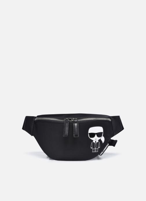 Bolsos de mano Karl Lagerfeld K/IKONIK NYLON BUMBAG Negro vista de detalle / par