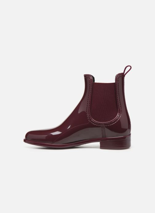 Bottines et boots Lemon Jelly Warm Comfy Bordeaux vue face