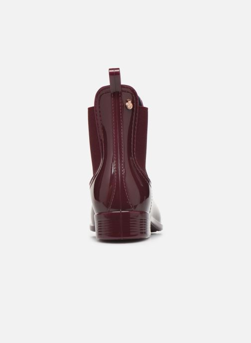 Ankle boots Lemon Jelly Warm Comfy Burgundy view from the right