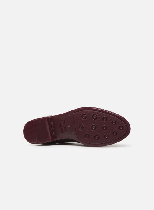 Ankle boots Lemon Jelly Warm Comfy Burgundy view from above