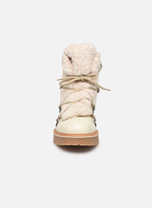 Bottines et boots Lemon Jelly Anna Blanc vue portées chaussures
