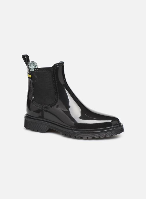 Ankle boots Lemon Jelly Maren Wasteless Black detailed view/ Pair view