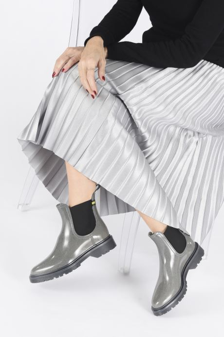 Ankle boots Lemon Jelly Maren Wasteless Grey view from underneath / model view