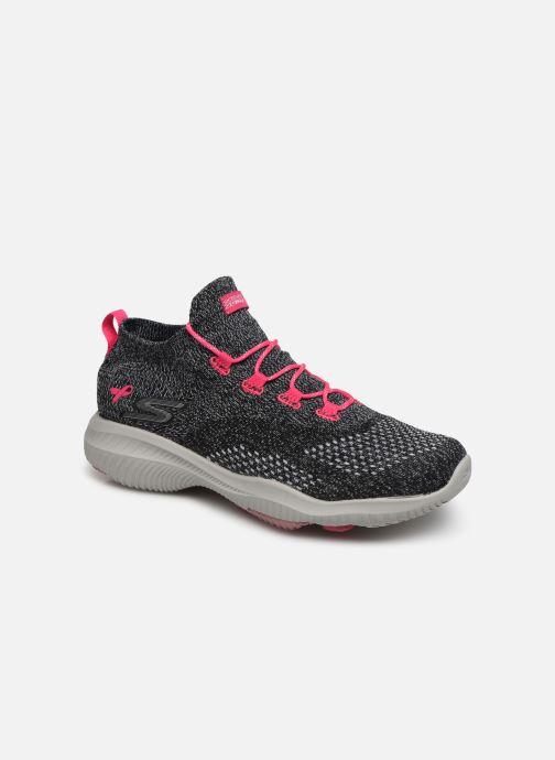 Baskets Skechers Go Walk Revolution / Hope Gris vue détail/paire