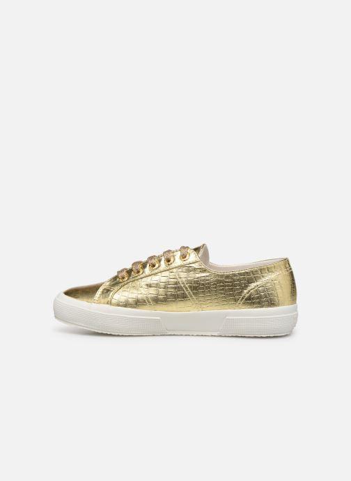 Sneakers Superga O 2750- Cotmetembossedcocco W Goud en brons voorkant