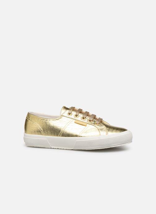 Sneakers Superga O 2750- Cotmetembossedcocco W Oro e bronzo immagine posteriore