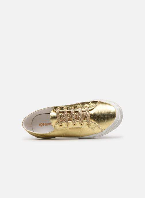 Sneakers Superga O 2750- Cotmetembossedcocco W Oro e bronzo immagine sinistra