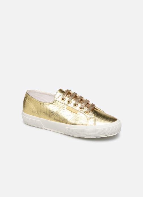 Sneakers Superga O 2750- Cotmetembossedcocco W Goud en brons detail