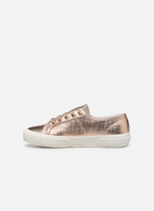 Baskets Superga O 2750- Cotmetembossedcocco W Rose vue face