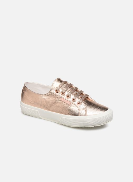 Baskets Superga O 2750- Cotmetembossedcocco W Rose vue détail/paire