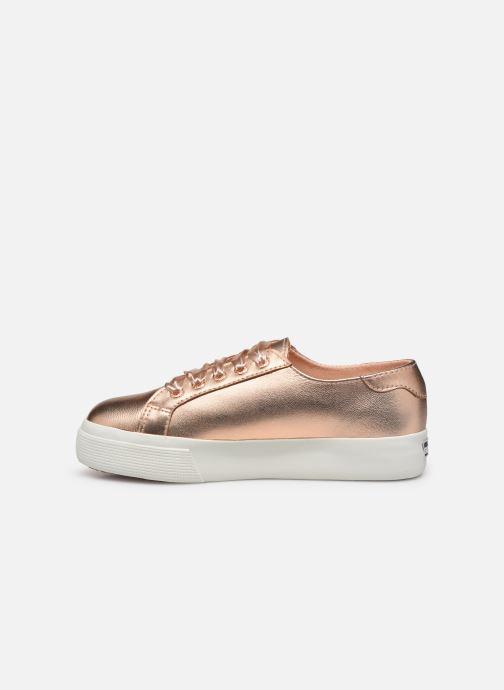 Sneakers Superga 2730- Leanappamattmirrorw Roze voorkant