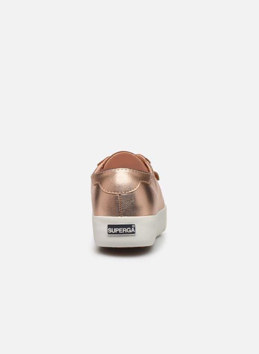 Sneakers Superga 2730- Leanappamattmirrorw Roze rechts