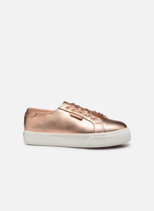 Sneakers Superga 2730- Leanappamattmirrorw Roze achterkant
