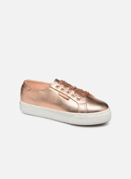 Sneakers Superga 2730- Leanappamattmirrorw Roze detail