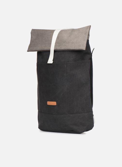 Sacs à dos UCON ACROBATICS HAJO Backpack Noir vue portées chaussures