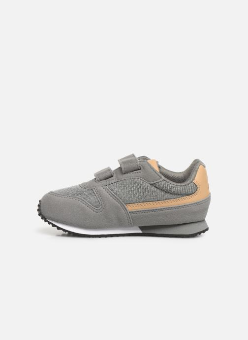 Trainers Le Coq Sportif Alpha II INF CRAFT Grey front view