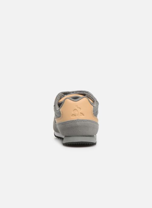 Trainers Le Coq Sportif Alpha II INF CRAFT Grey view from the right