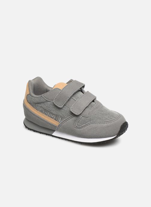 Trainers Le Coq Sportif Alpha II INF CRAFT Grey detailed view/ Pair view