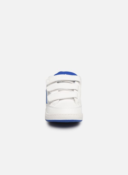 Baskets Le Coq Sportif Courtclay INF SPORT Blanc vue portées chaussures