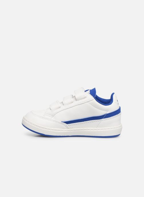Baskets Le Coq Sportif Courtclay INF SPORT Blanc vue face