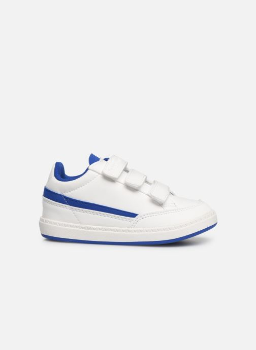 Trainers Le Coq Sportif Courtclay INF SPORT White back view