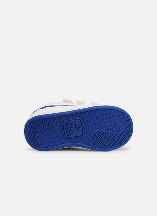Trainers Le Coq Sportif Courtclay INF SPORT White view from above