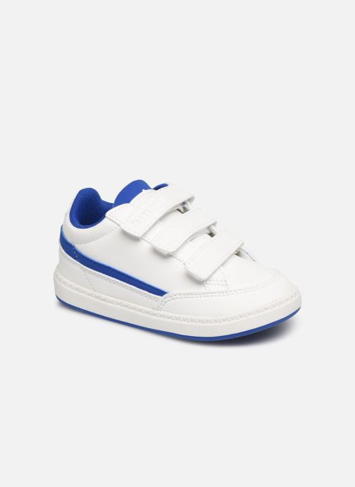 Trainers Le Coq Sportif Courtclay INF SPORT White detailed view/ Pair view