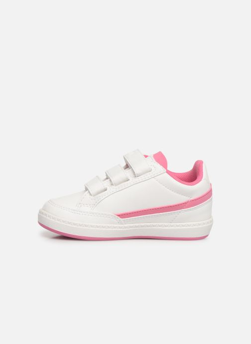 Sneakers Le Coq Sportif Courtclay INF SPORT Wit voorkant