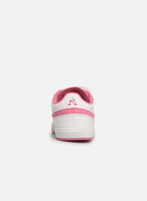 Sneakers Le Coq Sportif Courtclay INF SPORT Wit rechts