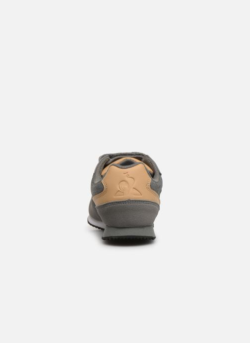 Trainers Le Coq Sportif Alpha II PS CRAFT Grey view from the right