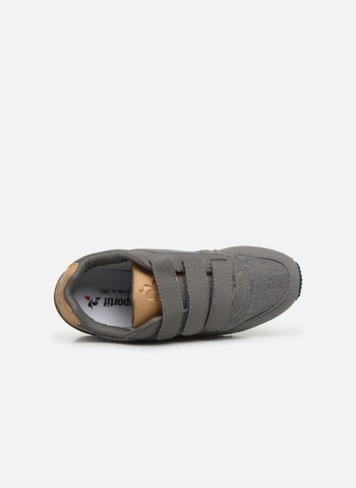 Trainers Le Coq Sportif Alpha II PS CRAFT Grey view from the left