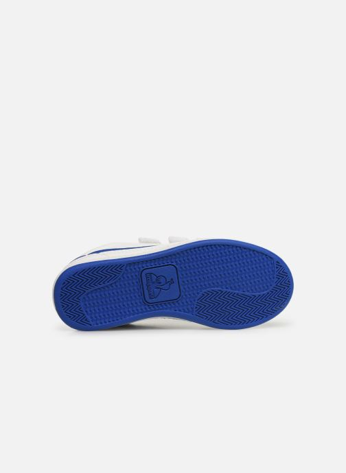 Trainers Le Coq Sportif Courtclay PS SPORT White view from above