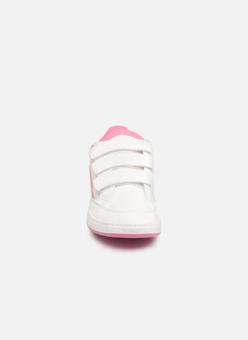 Baskets Le Coq Sportif Courtclay PS SPORT Blanc vue portées chaussures