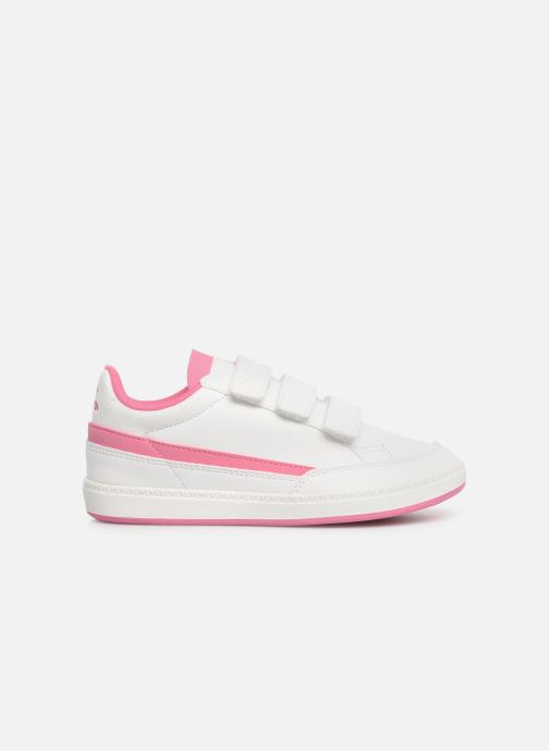 Trainers Le Coq Sportif Courtclay PS SPORT White back view