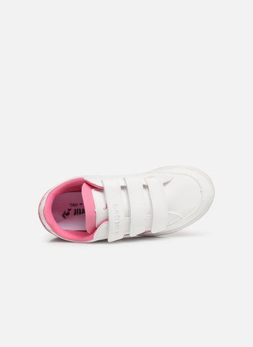 Sneaker Le Coq Sportif Courtclay PS SPORT weiß ansicht von links