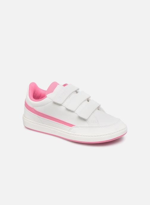 Trainers Le Coq Sportif Courtclay PS SPORT White detailed view/ Pair view