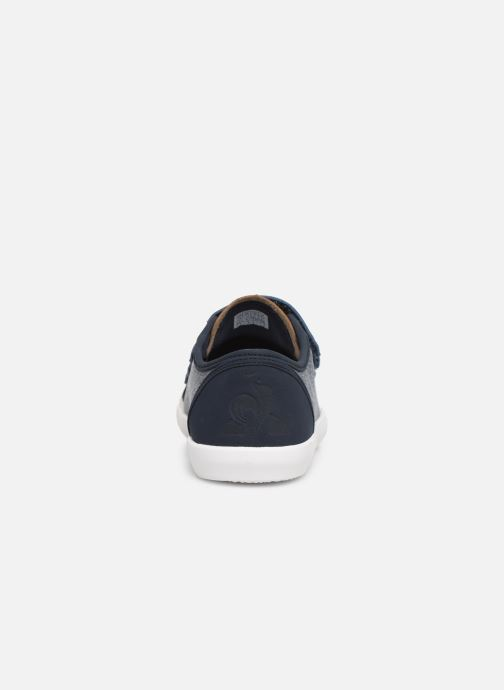 Trainers Le Coq Sportif Nationale PS CRAFT Blue view from the right