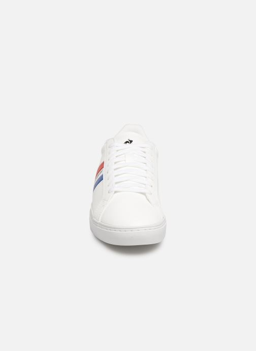 Trainers Le Coq Sportif Courtflag GS White model view