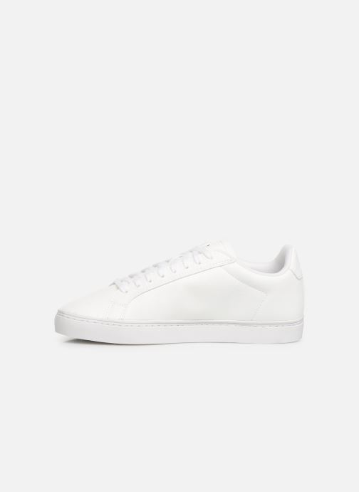 Trainers Le Coq Sportif Courtflag GS White front view