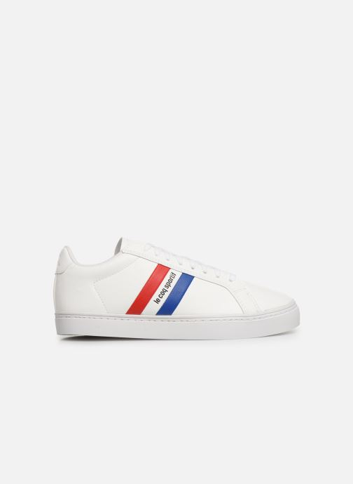 Trainers Le Coq Sportif Courtflag GS White back view