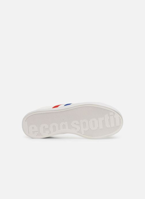 Trainers Le Coq Sportif Courtflag GS White view from above