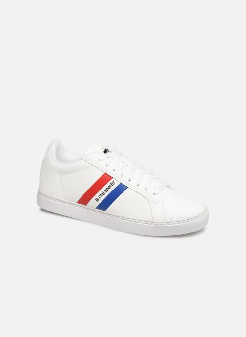 Trainers Le Coq Sportif Courtflag GS White detailed view/ Pair view